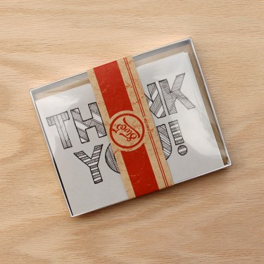 Thank You Cards Set B